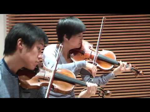 Parker Quartet performs Bla Bartk&#39;s String Quartet No. 1