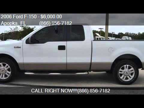 2006 Ford F-150 XLT for sale in Apopka, FL 32703 at MULLINAX