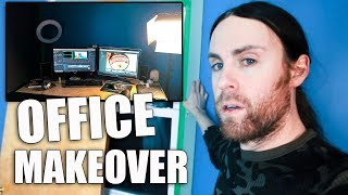 Ice Storm & I Give My Office a Makeover