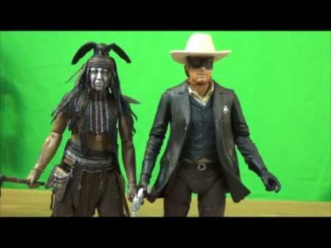 Lone Ranger & Tonto 7 inch Action Figure review