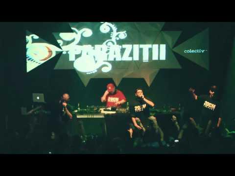 Parazitii - Emotii - Live In Club Colectiv 10-04-2014 video