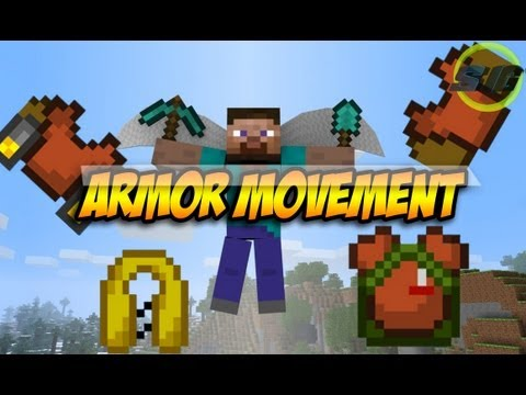 Minecraft 1.5.2 y 1.6.2 ~ Como instalar Armor Movement Mod