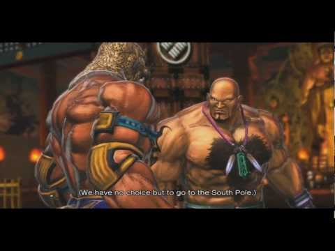 Street Fighter x Tekken - King and Marduk Story (Arcade)