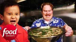Only 8 Out Of 500 Contestants Have Finished This 4LB Pho! | Man v Food