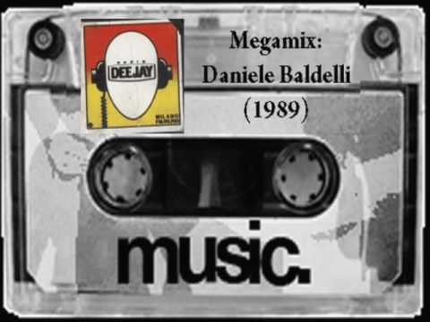 DANIELE BALDELLI in Megamix @ Radio Deejay pt.1 (1989) - FM Story
