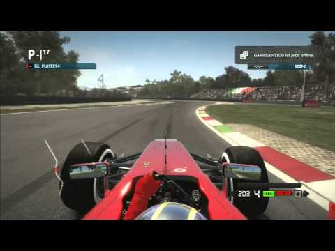 Lets Play Formel 1 2012 Co Op  Part 30 Italien Qualifying (German)