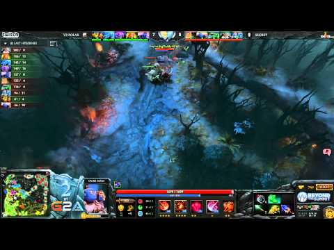 Secret vs VPpolar - Game 1 (Summit 2 EU - WB Finals)