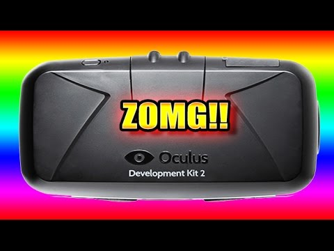 THE BRAND NEW OCULUS RIFT DK2!