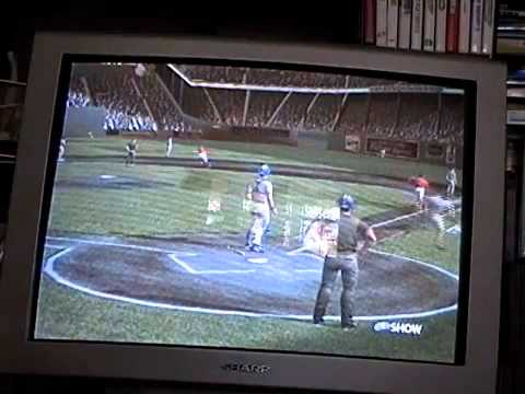 gamecube mvp baseball 2005 red sox vs padres in polo grounds highlights