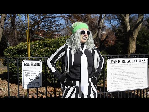 Beetlejuice Attempts to Run 1 Mile for Charity