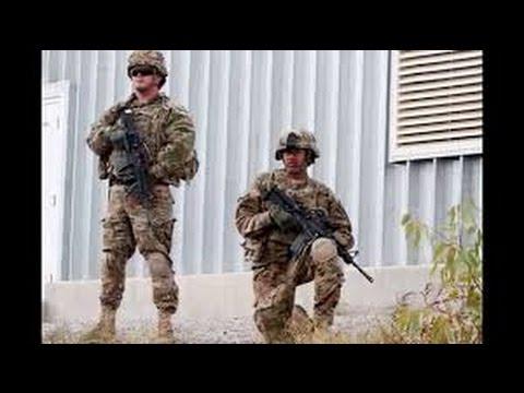 Спецназ Армии США учит ВСУ зачистке боевиков