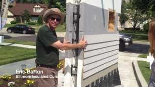 Logix ICF Walls used in 1st Passive House of Northern Illinois