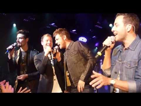 Backstreet Boys fan event - Permanent Stain @ London Under the bridge 30 June 2013