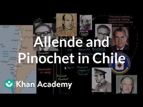 Allende and Pinochet in Chile