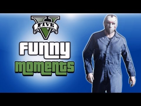 GTA 5 Online Funny Moments Ep. 1 (Getting Laid, Stalking Vanoss, Flying Planes & Jets)