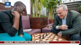 Sports Tonight: Chess Analyst, Babatunde Ogunsiku Discusses Local And International Chess