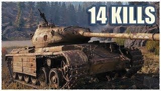 Progetto 46 • 14 KILLS • KOLOBANOV'S Medal • WoT Gameplay
