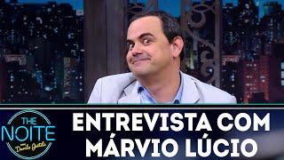 Entrevista com Márvio Lúcio   The Noite (03/05/18)
