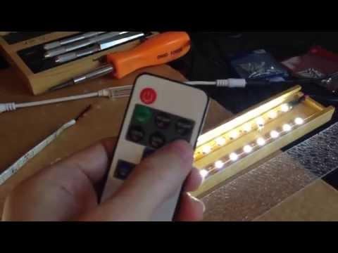Simple 5630 LED Light Strip Enclosure