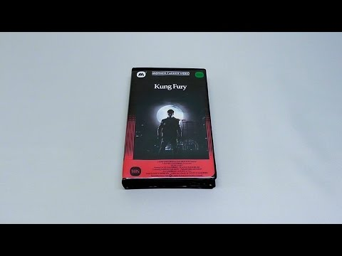 Kung Fury | Custom Designed VHS Version inspired by Warner Brothers