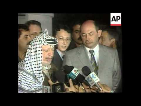 PALESTINE: ARAFAT ASSAD REACTION 2