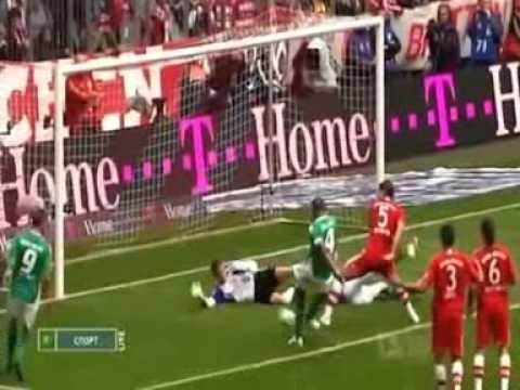 Mesut Özil - Tor gegen Bayern 2008