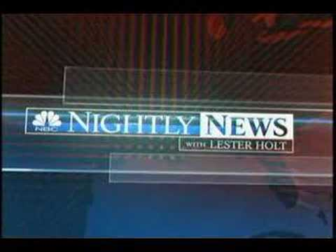 NBC Nightly News with Lester Holt Open and Close