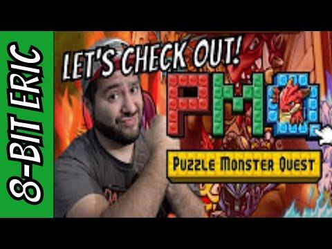 Puzzle Monster Quest X Attack on Titan (iOS) | 8-Bit Eric