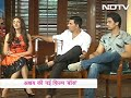 images Akshay Kumar Aditi Shiv In Conversation About Their Latest Movie