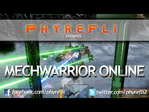 Four MechWarrior Online Games + Commentary. Hunchback, Cataphract, Atlas & Stalker