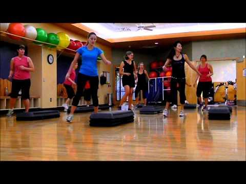 Hot Mamas Zumba Inspired Step Aerobics video
