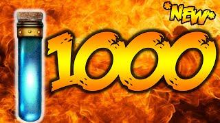 1000 LIQUID DIVINIUM OPENING - BLACK OPS 3 ZOMBIES DER EISENDRACHE DLC GOBBLEGUM! (BO3 Zombies)