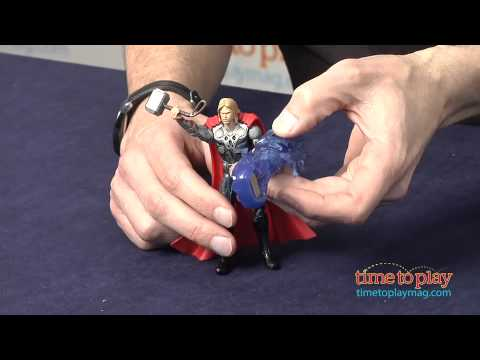 The Avengers Movie Series Shock Strike Thor from Hasbro