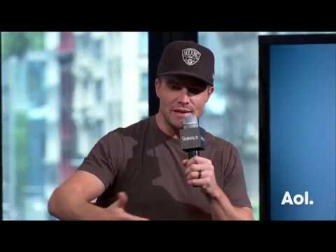 Stephen Amell Discusses Working With Megan Fox & Michael Bay | AOL BUILD