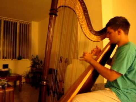 Stairway to Heaven Harp cover
