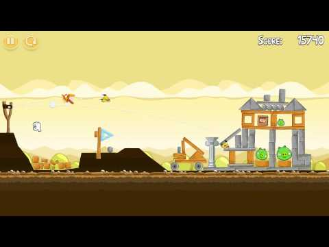 Mighty Hoax - Level 5-11 - Three Stars [ Angry Birds ]