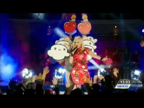 "Gwen Stefani Pharrell ""Spark The Fire"" New Years Eve 2014"