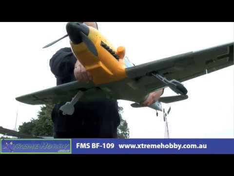 New FMS BF-109 Brushless Warbird with Retracts