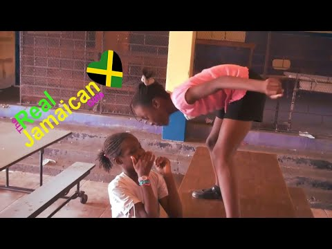 The Real Jamaican Girls Get Into A Fight