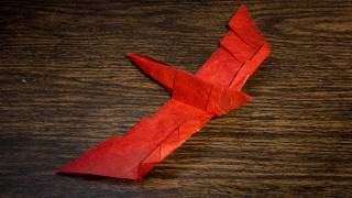 How To Make An Easy Origami Falcon Bird