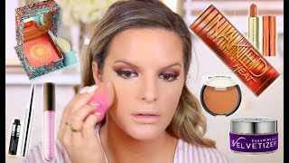 TESTING HOT NEW MAKEUP! FIRST IMPRESSIONS | Casey Holmes