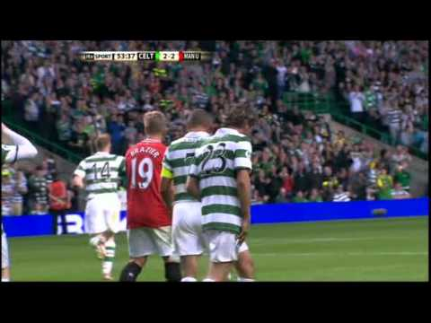 Henrik Larsson's Final Hatrick for the HOOPS