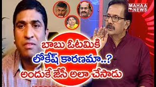 Analyst Srinivas Reveals Main Reason For TDP Defeat In Elections? |#PrimeTimeDebate