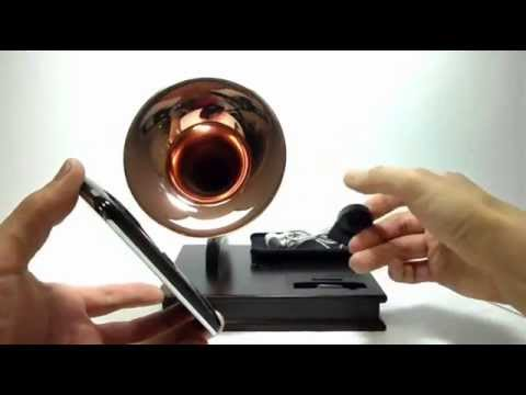 iAcoustic : Rebirth of Antique Gramophone