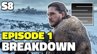 "Game Of Thrones Season 8 Episode 1 - ""Winterfell"" Breakdown Review"