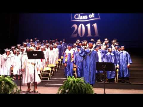 Crim High School Graduation 2011 Class Song Directed and Arranged by Yours Truly!