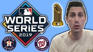 2019 MLB World Series Predictions! Astros vs Nationals Prediction