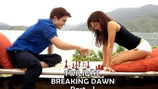 Twilight Breaking Dawn Part 1 Love Scene