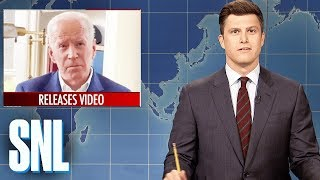 Weekend Update: Joe Biden's Inappropriate Touching - SNL