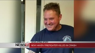 New Haven firefighter killed in New Britain crash